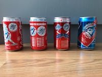 Blue Jays World Series Coke cans   Waterloo, N2G 1P1
