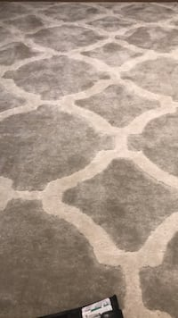 white and gray area rug مونتريال, H3G 2H5