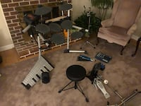 Professional drum set. Everything included 700 obo. Retails 3,700. Make me an offer Great Falls, 22066