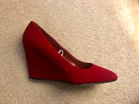 Red wedges shoes Frederick, 21701