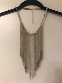 (New) Gold chain necklace