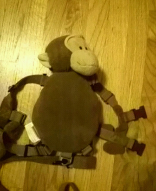 baby's brown carrier