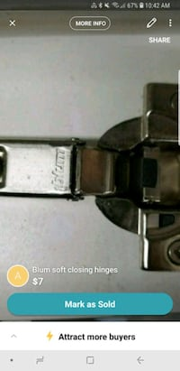 stainless steel blum soft closing hinges screenshot Brampton, L6Z 3P5