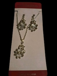 Necklace and Earring set Silver  San Diego, 92115