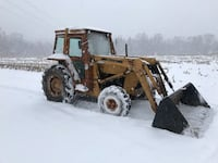 Ford 445 50HP 4WD Diesel loader tractor with cab Ralpho, 17824