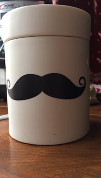 white mustache ceramic scentsy wax melter  Westminster, 21158