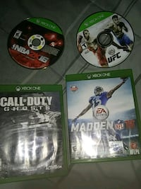 Xbox1 games 10 a pc Middletown, 06457