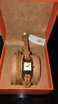 New Tory Burch watch with tag. Fairfax, 20170