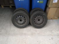 All Season tires with rims 185 60R14 Toronto, M1C 5J6
