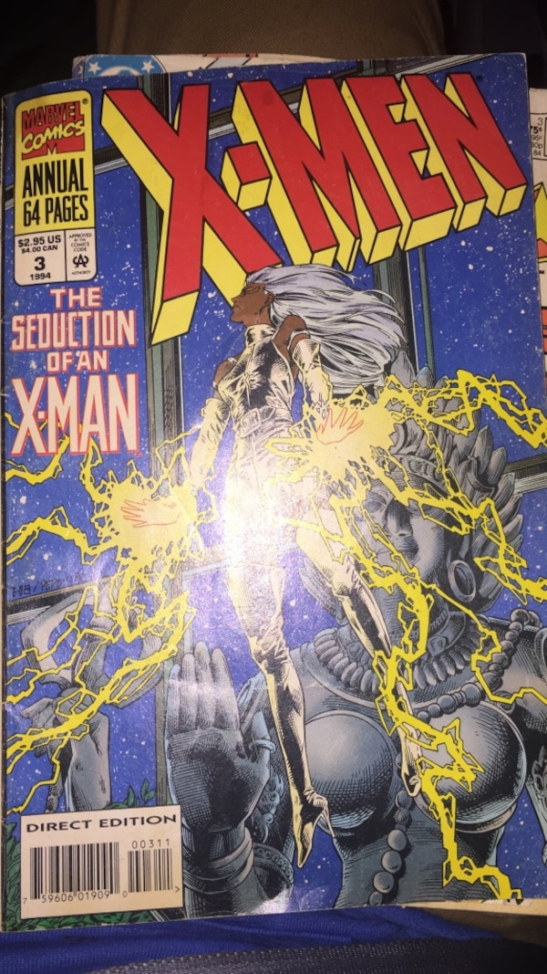 8cc868410 Used marvel comics x-men the seduction of an x-man for sale in ...