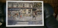 BRAND NEW BOUGHT LAST YEAR. BEAUTIFUL DECORATIVE CANVAS PAINTING  Montréal, H9H 1H2
