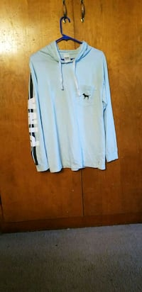 white and blue long-sleeved pink shirt size small  Keizer, 97303