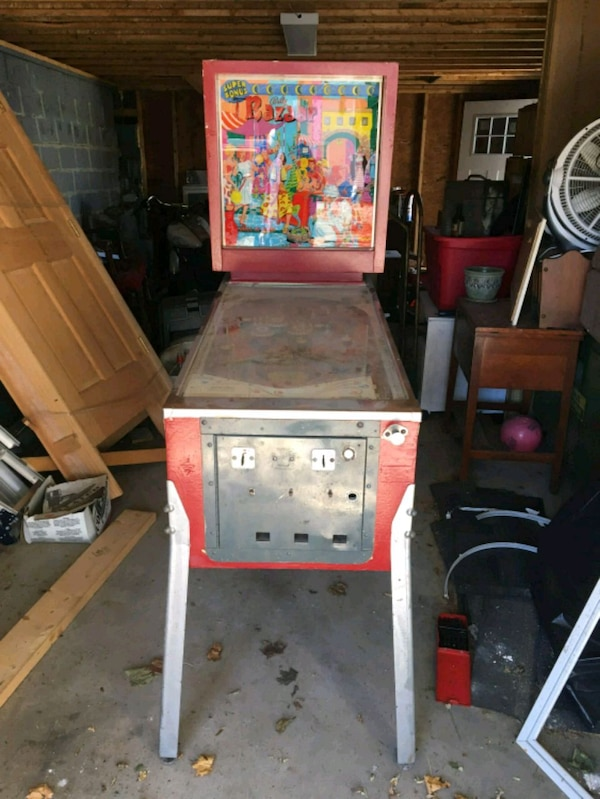 1966 Bally wizard pinball machine for sale or trad
