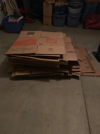 Moving boxes 30 assorted from wardrobe to small. Oro Valley, 85737