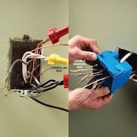 Electrical and wiring repair