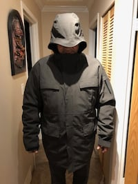 2in1 Mens Columbia Titanium Hooded Coat Snowboard -2XT - $120 Port Coquitlam