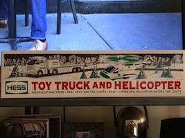 HESS 2006 Toy Truck & Helicopter