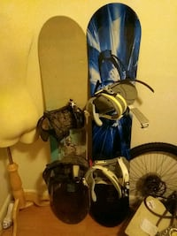 Snowboards (Barely ever used)