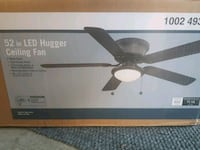 "BNIB 52"" Ceiling Fan with LED light Langley City, V3A 8L8"