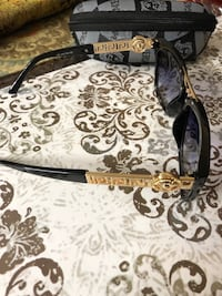 Black & gold Versace Women's Sunglasses with Case Fairfax