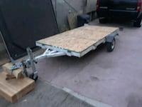 black and gray utility trailer North Las Vegas, 89030