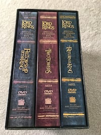 four The Lord of the Rings books Edmonton, T6K 3Z3