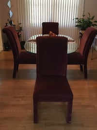 4 Dining Chairs ONLY, Excellent Condition, non- negotiable