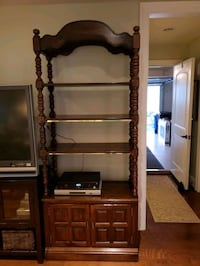 2 Solid Wood Bookcases  Bladensburg