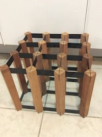 Wine rack  new one ,excellent condition,9 bottle Toronto, M2R 2A3