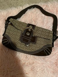 Coach small signature bag with small wallet Brick, 08723