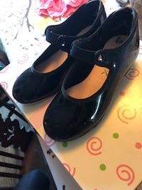 pair of black leather flats Asheville, 28805