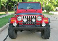 red and black Jeep Wrangler Minneapolis, 55454