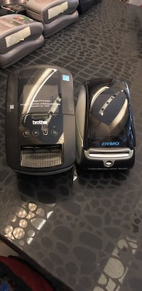 black Brother and Dymo receipt dispensers