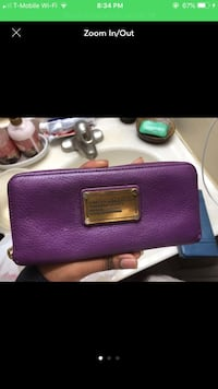 Marc jacobs Wallet purple  Woodbridge, 22193