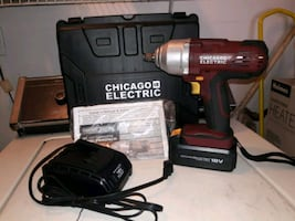 Cordless impact wrench 1/2 inch