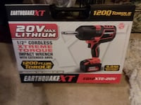 """""""20% OFF"""" 20V Lithium 1/2"""" Cordless Xtreme Torque Impact Wrench/W 2 In"""