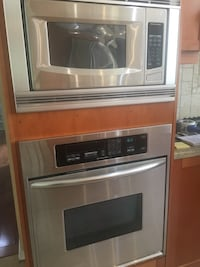 "Kitchen aid 30"" wall oven great condition"