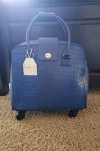 Beautiful Blue carry-on/laptop ba brand new paid $