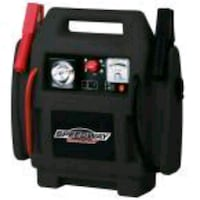 EMERGENCY CAR JUMP STARTER AND COMPRESSOR WITH REC Houston, 77055