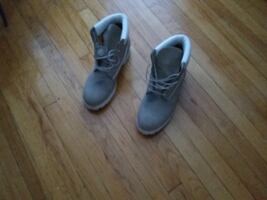 Mens Boots, Timberland, Genuine Leather, Waterproo