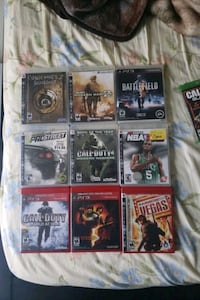 Variety of ps3 games