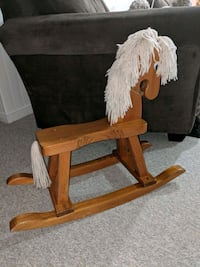 Solid Wood Rocking Horse