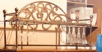 Wrought iron hutch top