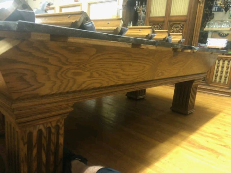 foto de Used 8 Ft. Golden West Pool Table for sale in Cambridge - letgo