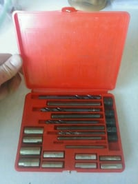 red and black tool chest 2355 mi