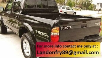 Clean title Toyota Tacoma V6 SR5 Runs and drives great w4y3rg