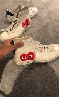 Cdg shoes size 7 men fits 8-8.5 9.5/10 condition sold out in store