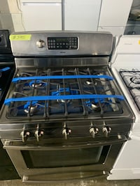 Kenmore stainless steel gas stove 5 burners 4 months warranty