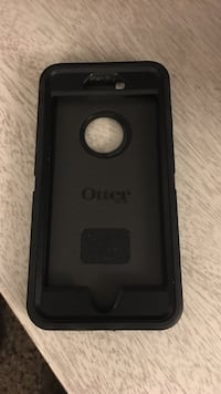 Black otter box iphone case for iphone 6+