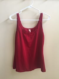 Women's Red Camisole (Felina Lingerie, Size Large) Chantilly, 20152